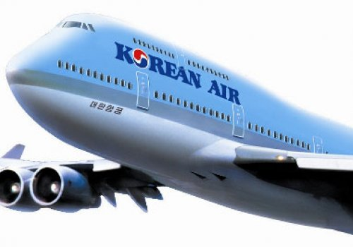 Mit Korean Air nach Seoul